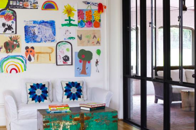 11 Creative Ways to Showcase Your Kids' Artwork