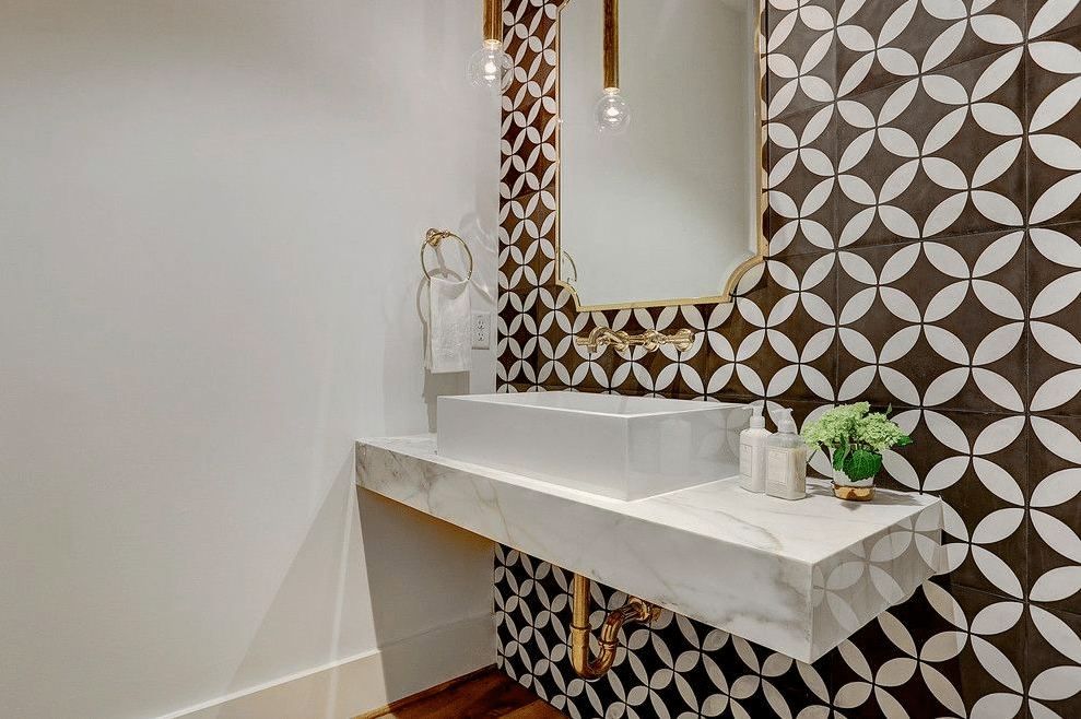 Bathroom Wall Cement Tile