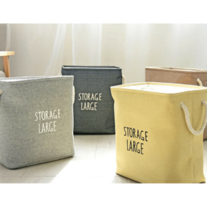 Storage Large Canvas Hamper