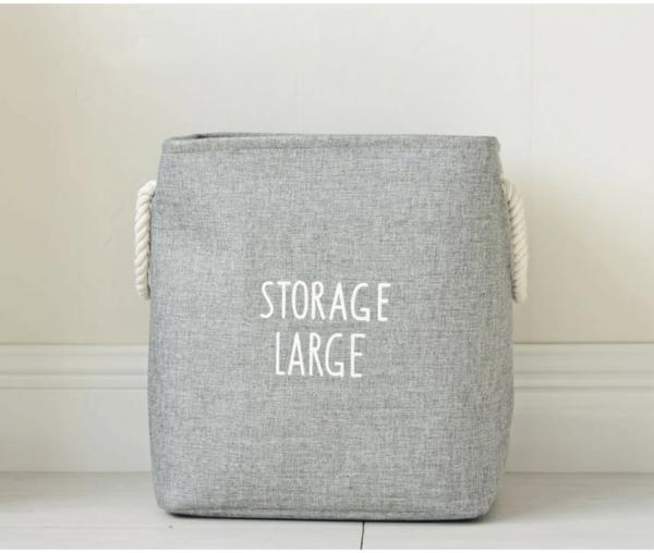 Storage Large Canvas Hamper