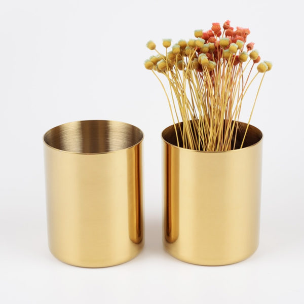 Classic Metal Pencil Cup